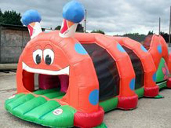 Inflatable Poison Snake Design Tunnel For Outdoor Business Promotion