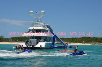 Çin Giant Inflatable Water Sports,Inflatable Yacht Sliding Sports Games Fabrika