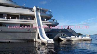 Çin Customized Water Slide Inflatable Water Sports on yacht 0.90mm Pvc Tarpaulin Fabrika