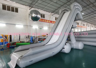 Çin 0.90mm PVC Water Slide, Inflatable Water Sports For Water Park Fabrika