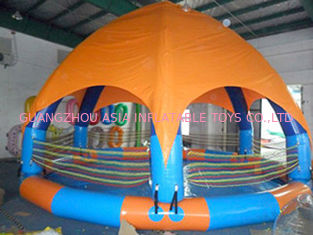Family Size Kids Inflatable Pools With Tent Cover