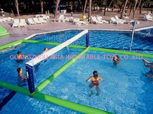 Çin Inflatable Water Volleyball Field For Swimming Pool Sports Games Fabrika