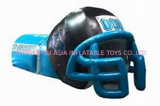 Çin NFL Helmet Tunnel, Inflatable Entrance For Nfl Games Fabrika