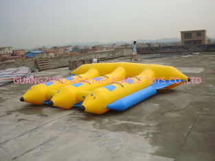 Çin Hot Air Welded Inflatable Flying Fish Boat for 6 Passengers Fabrika
