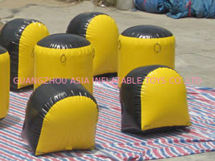 Çin Inflatable Paintball Bunker BUN31 Used on the Inflatable Bunkers Fabrika
