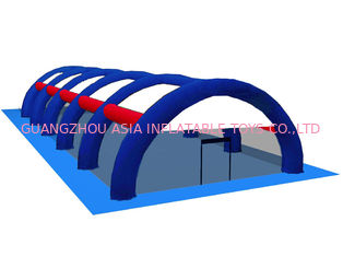 0.9mm PVC branda şişme Paintball Arena ARENA08