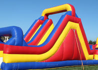 Big Inflatable Obstacle Course Bounce House For Outdoor Game 2 Years Warranty