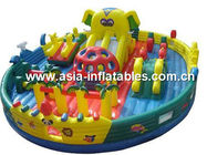 Outdoor Inflatable Jail Design Funland / Prison Design Funcity For Park Rental Games Tedarikçi