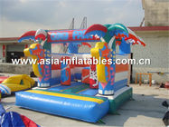Çin Inflatable combo/ inflatable bouncer , inflatable bounce house Fabrika