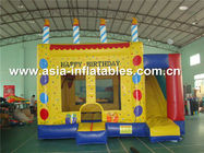 Çin Dreamland Inflatable Combo Bounce House slide inflatable bouncer Fabrika