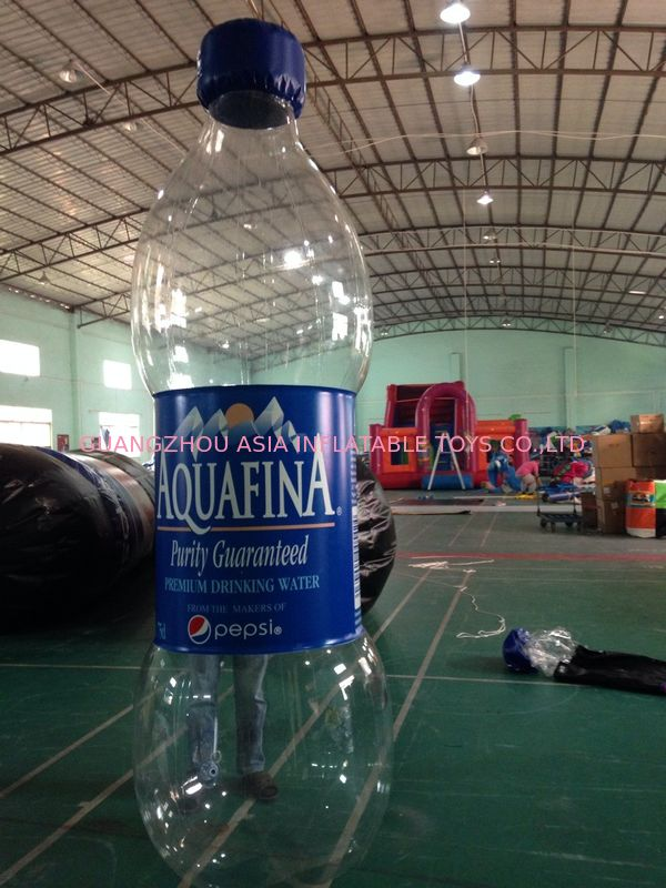Water Bottle Inflatable Model/Inflatable Water Bottle For Advertising Tedarikçi