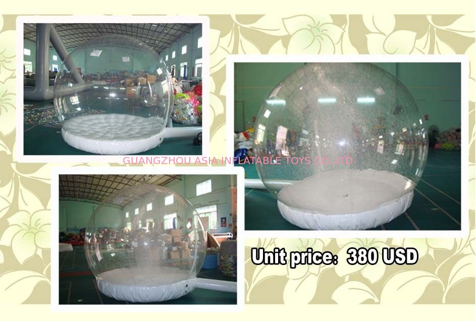 Customize EN71 Inflatable Snow Globe with Snow Machine Tedarikçi