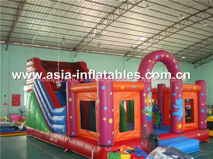 Sell inflatable combo, inflatable fun city, inflatable playgrounds factory price Tedarikçi