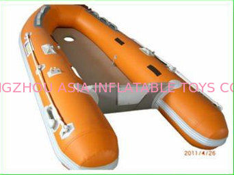 Custom Inflatable Sports Boat 2 Main Chambers On Hull for Extra Security Tedarikçi